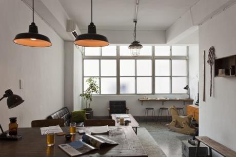 看見老屋生命力,屬於台灣的Loft生活。我的家就是我的咖啡可樂館。可樂