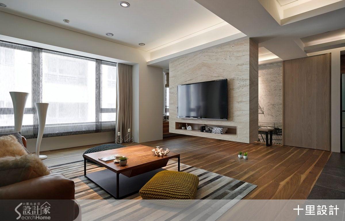 32坪舊屋換新 打造滿載的現代人文風