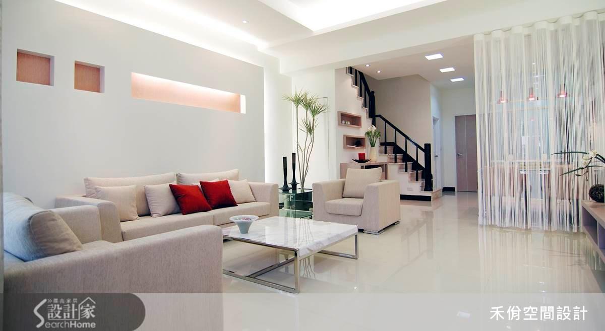 這個房子好氣色!淨白透亮的「現代風」居宅