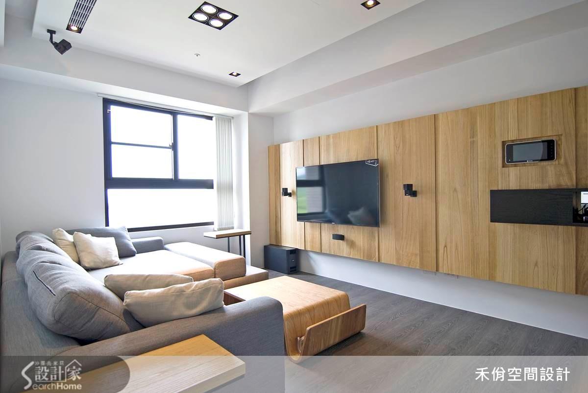 18坪2房2廳 在單身小窩裡擁有全世界