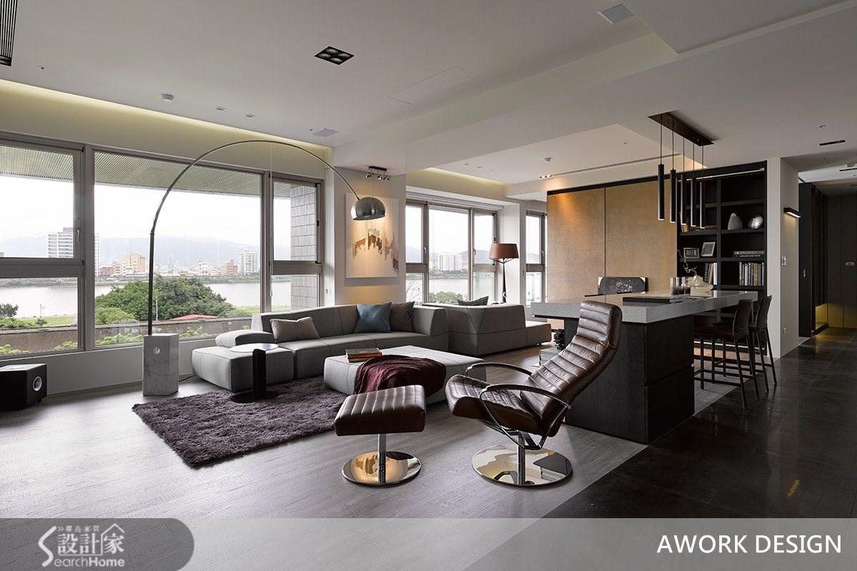 單身獨享尊榮生活 在現代風大宅坐擁河岸景觀