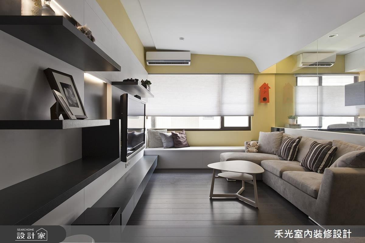 透明亮 22坪以簡約風格打造的活力之家