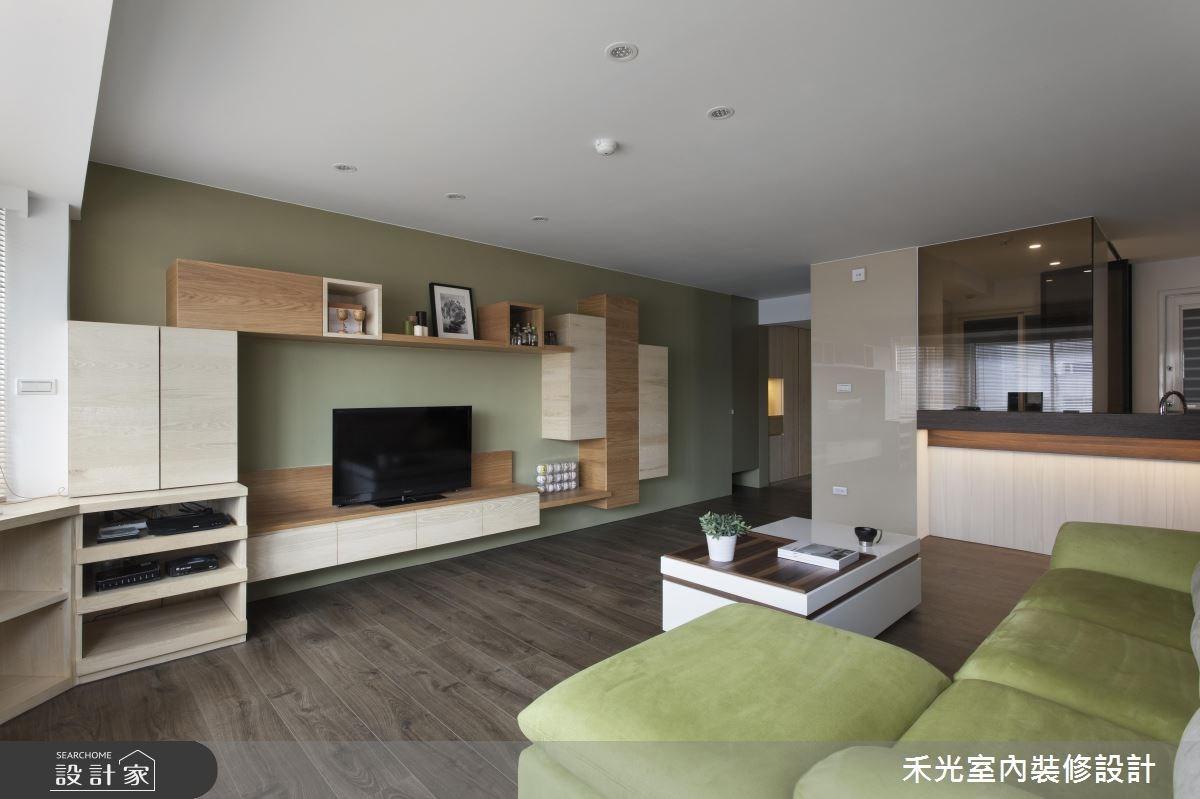 36坪3房2廳 打造一家四口的甜蜜二代宅