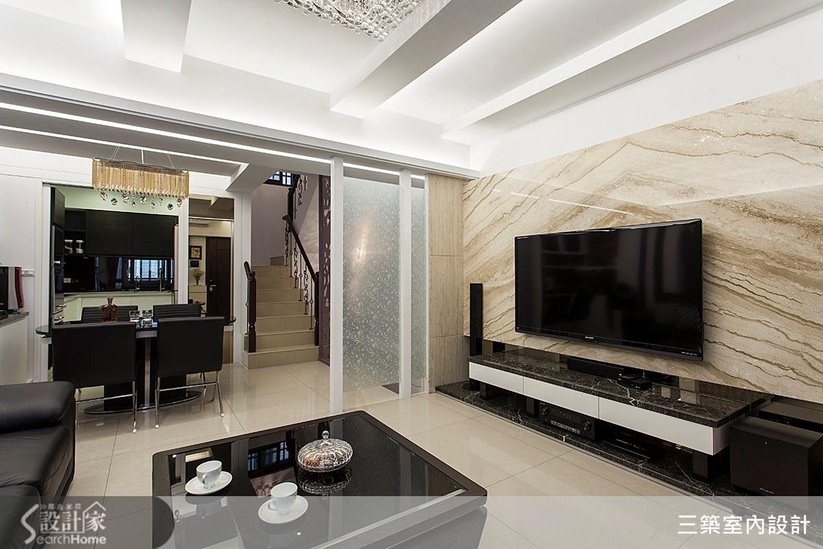 五口之家的專屬空間,豪宅氣勢的新古典別墅