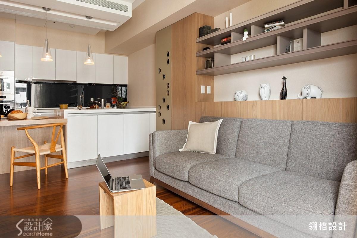 15坪2房2廳日式小家居 感受小確幸療癒風