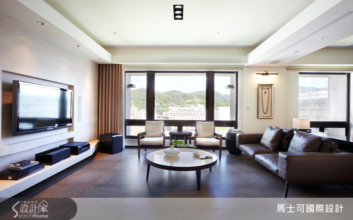 30坪3房1廳簡約風居宅  無雜質的100分純粹質感