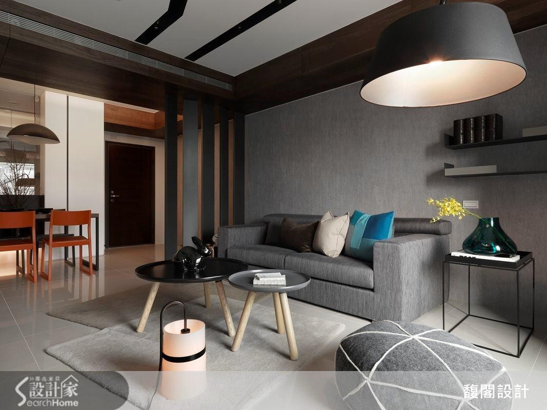 單身型男大作家之都會簡約宅 30坪創造3房2廳還有2衛浴