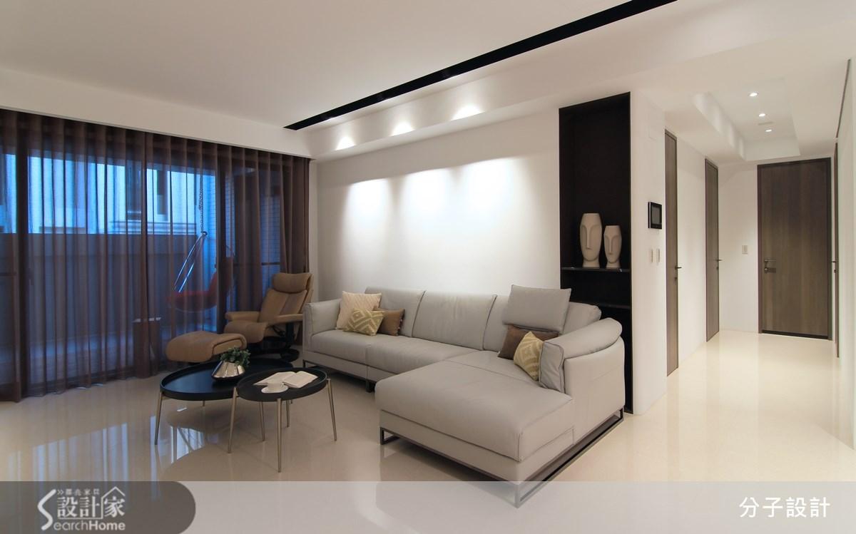 3 房 1 廳現代風屋宅  展現簡潔的大地自然感