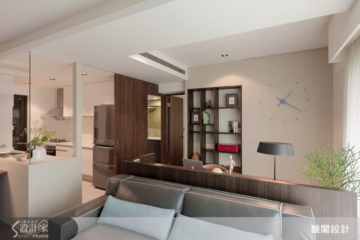 25 坪擁有雙衛浴&書房,迎向新婚生活的清新居所