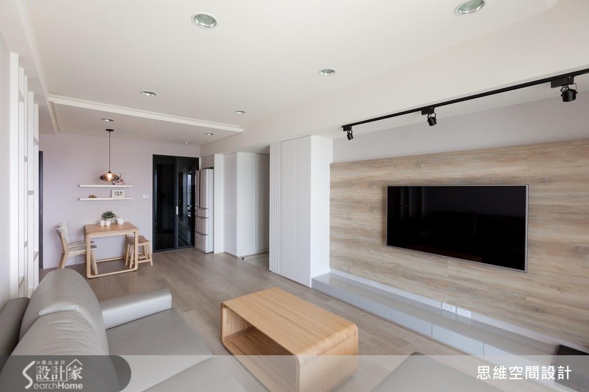 25坪打造3房2廳,用北歐風格串連小家庭的甜蜜新屋
