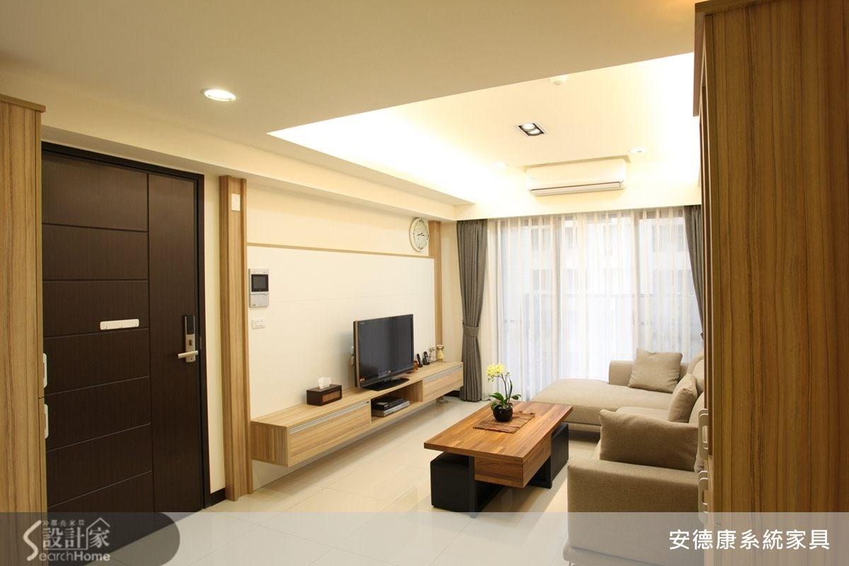 22坪3房2廳 上班族的現代風之家