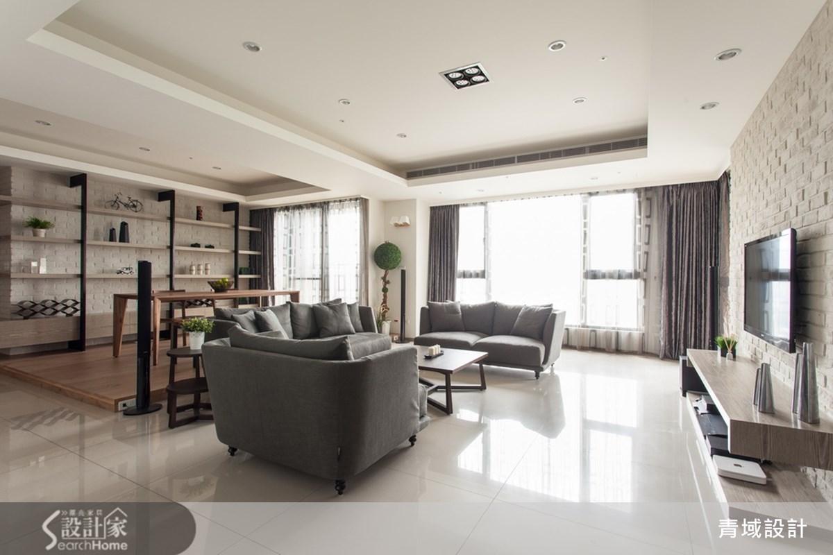 幸福夫妻的成家之道 坐擁河岸景觀55坪打造3房2廳2衛