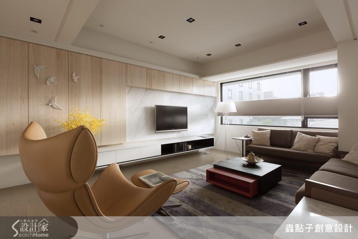 舊家回憶儲放新空間 一家 4 口 40 坪簡約風居宅
