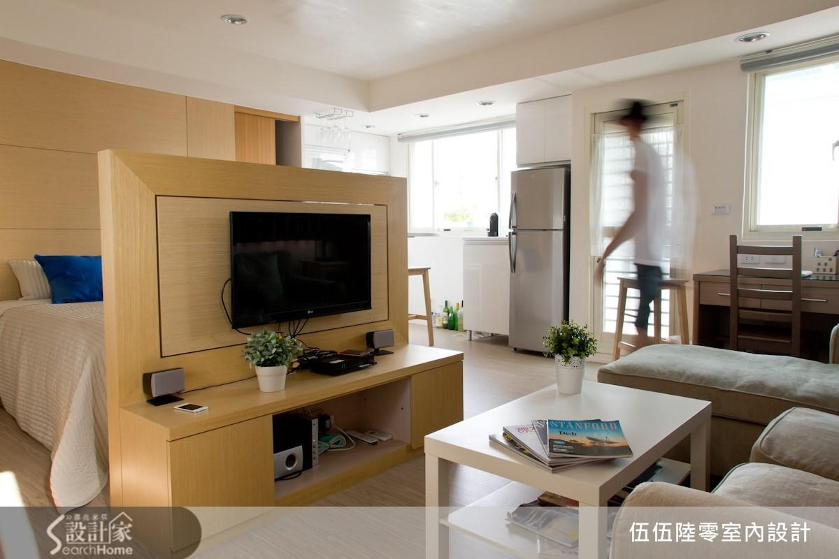 用對格局規劃,10坪也能滿足3房1廳1衛的北歐風美宅願想!