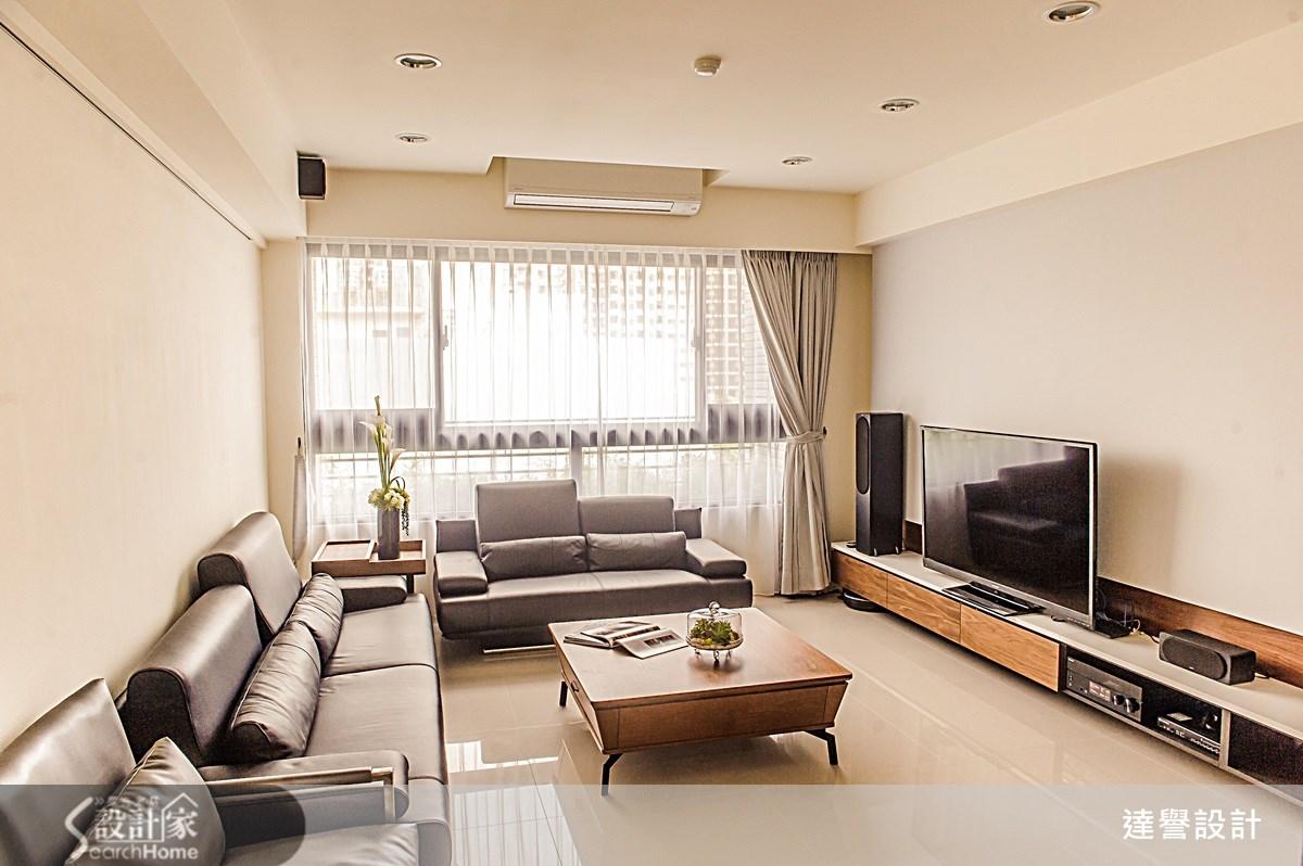 簡單而療癒的空間設計,滿足家的生活機能