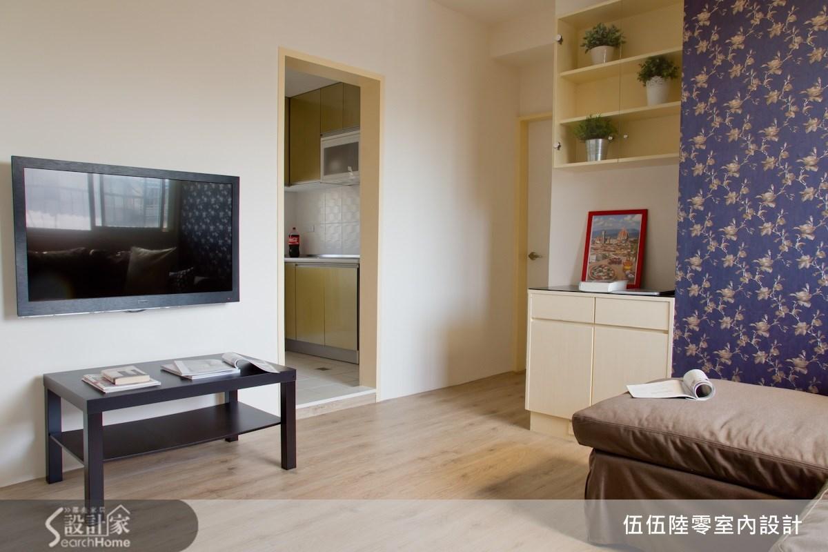 簡約感的設計空間,不管是都市新貴還是小家庭都合適!