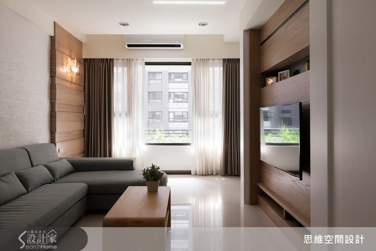 3 房 2 廳 25 坪 簡約風之家 大量收納滿足需求