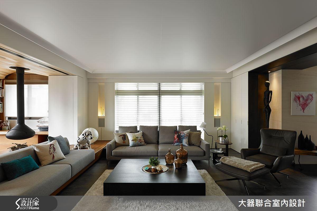 現代風 126 坪樓中樓 超有品味的藝廊之家