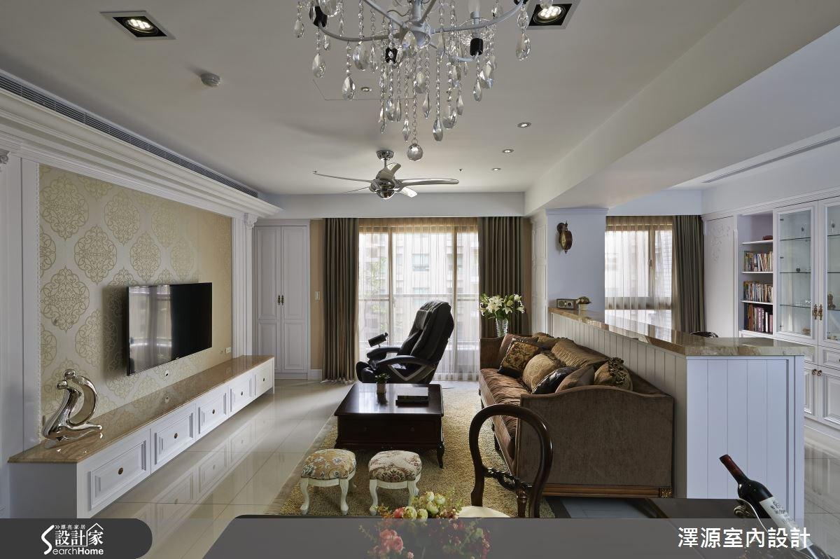 實現夢想非難事,找對設計就能打造人人稱羨的新古典風輕豪宅!
