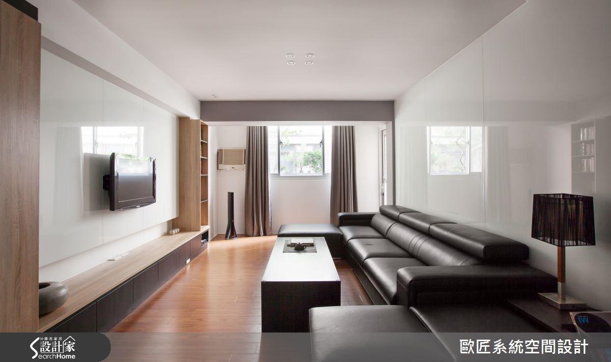 實用又有型的系統收納設計,讓30坪老屋改頭換面!