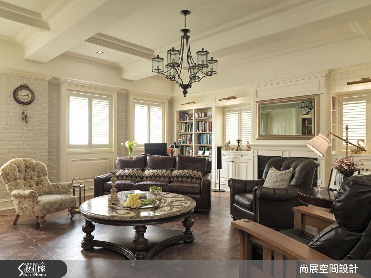 100 坪美式漢普頓別墅 打造在家度假的溫馨生活