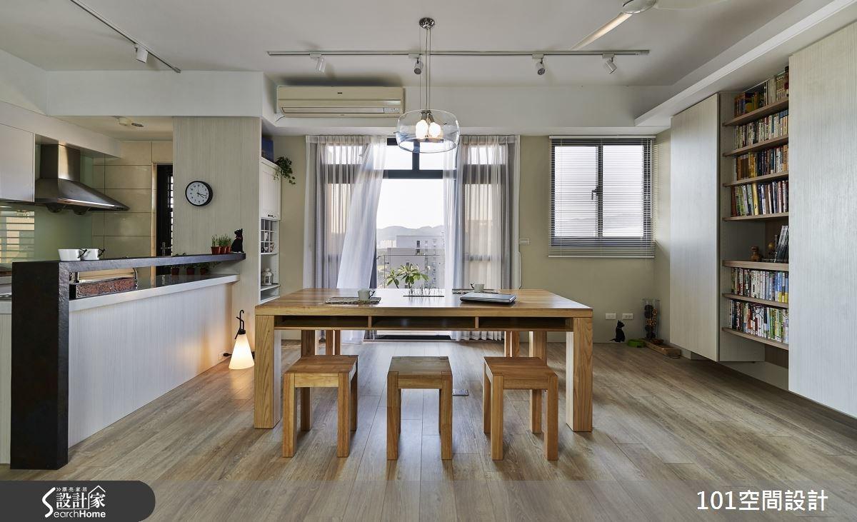 愛貓文青的 30 坪北歐宅 空間不設限的自在生活