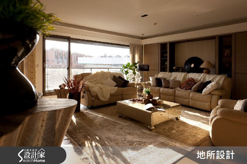 65 坪奢華風大宅  陽光+家飾打造香檳饗宴