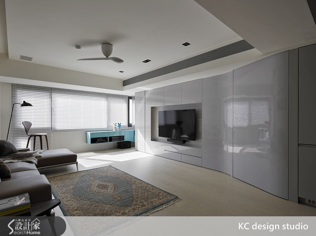 大安區 29 坪老屋換新  現代風流線的唯美示範
