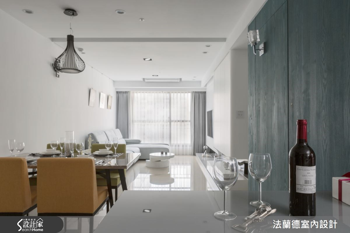 設計師的祝福好禮  擁有大尺度的 16 坪新婚宅