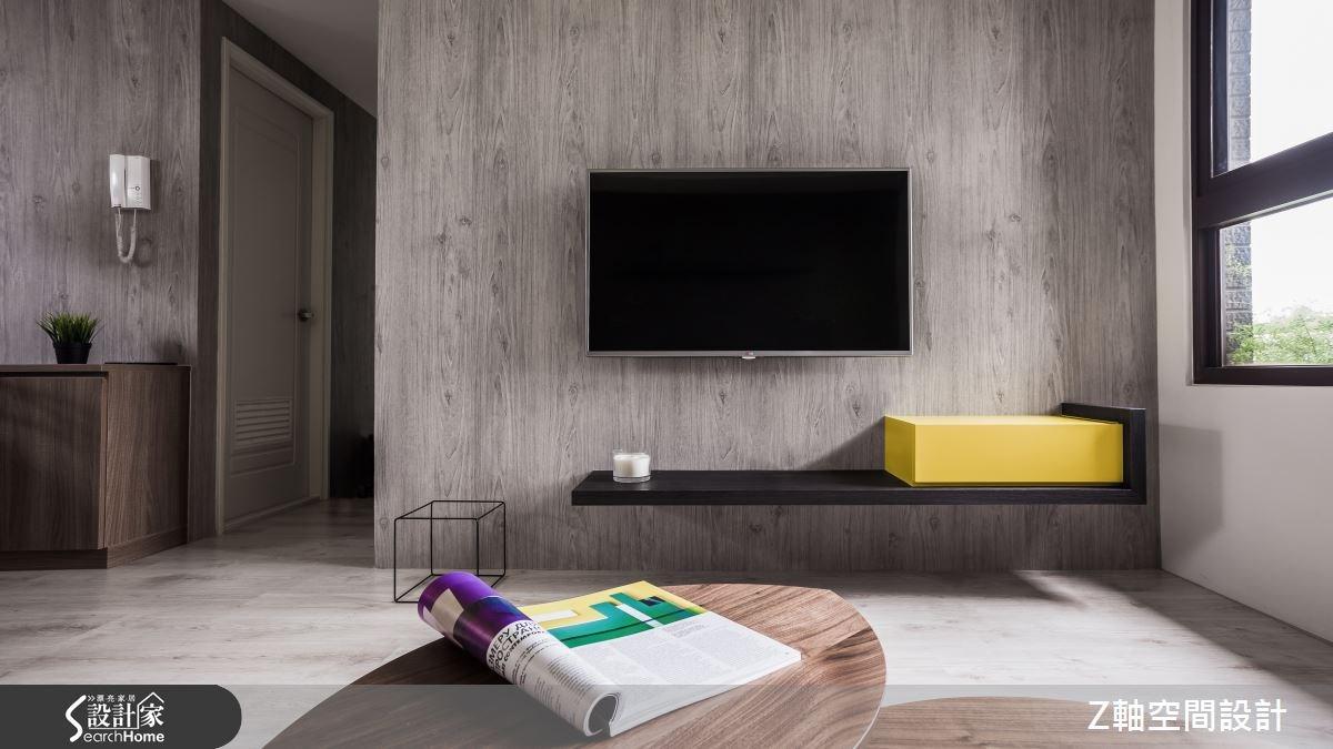 15坪3房2廳獨家調配混搭色彩 讓空間表情甜蜜升級!