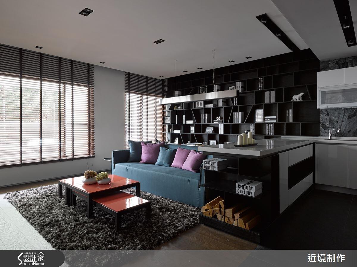 閱讀一座家屋的翩然詩意.17 坪一房一廳構築現代簡約住宅