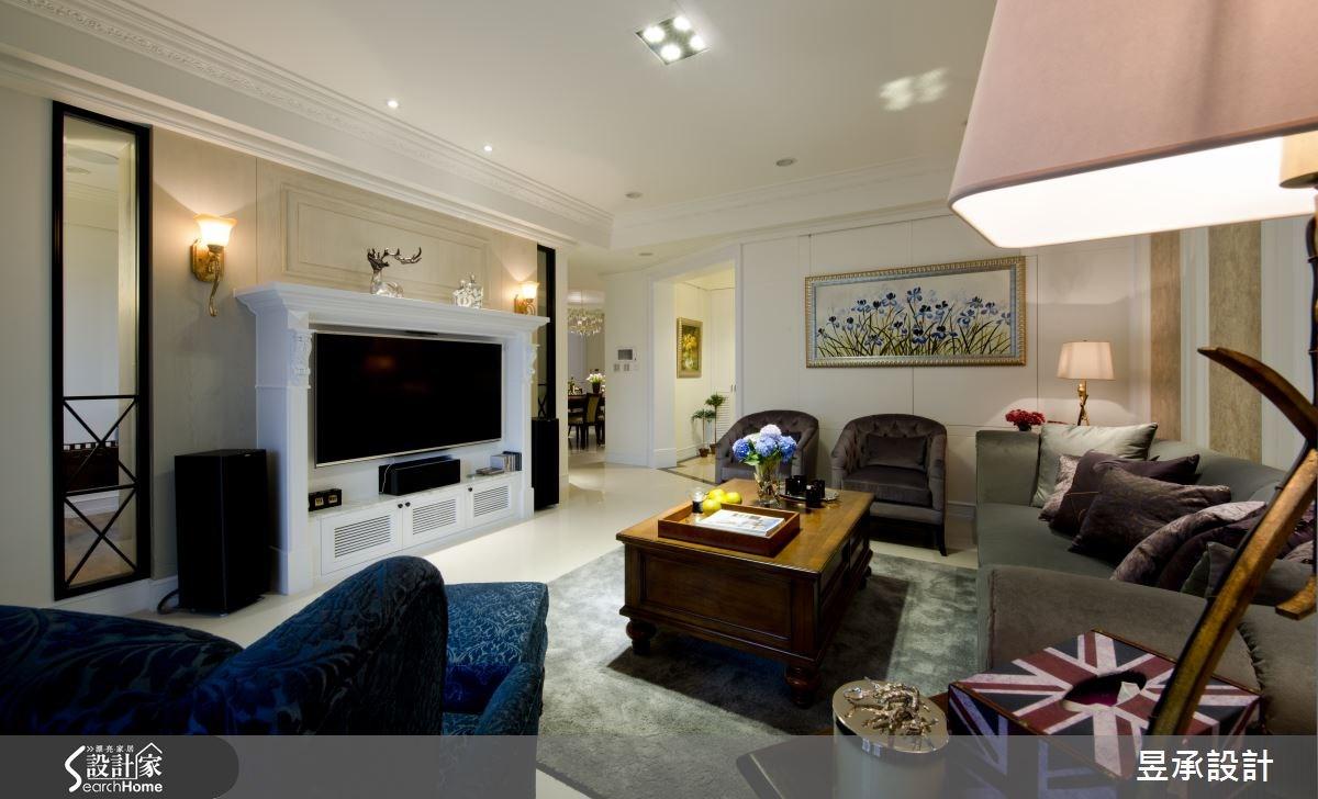 80 坪美式古典宅 譜出層次感輕盈藍調