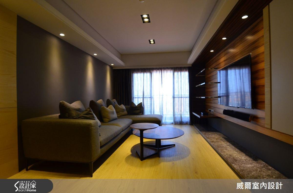 38 坪簡約風居宅 展現空間與家具的完美搭配