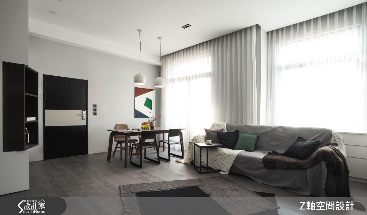 打開門 走進22 坪翻新老屋的溫柔鋼鐵心