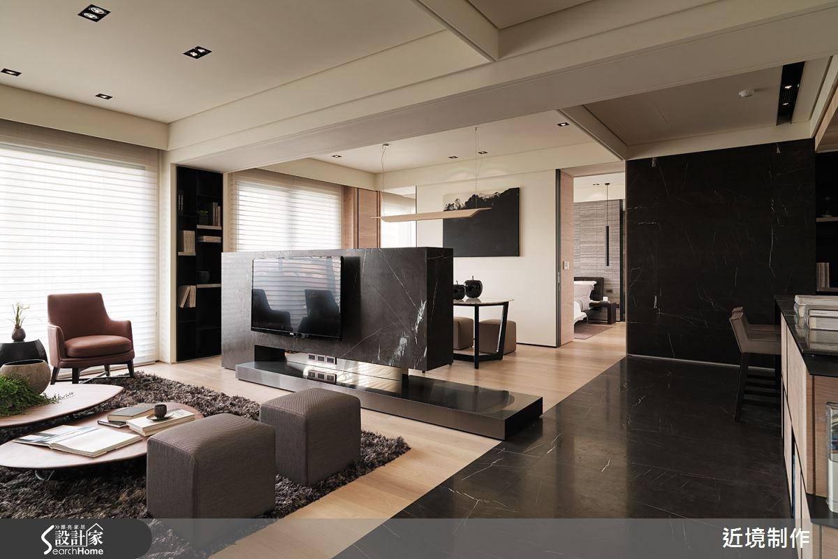 47 坪的藝術性格宅 在流動光廊裡品味質感