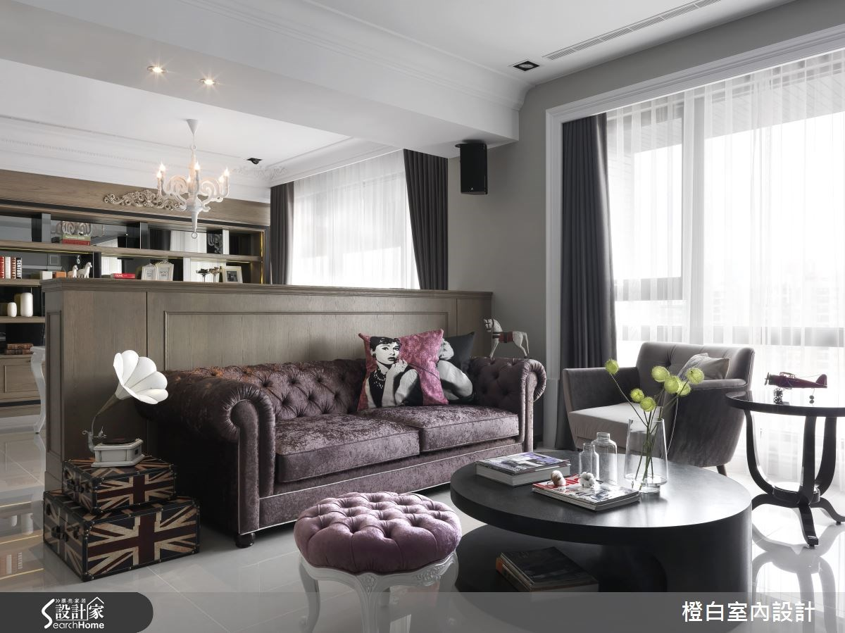 年輕企業家的理想居宅  35 坪優雅新古典空間