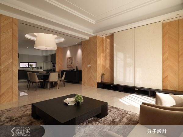 大自然的溫柔氣息 50坪三代同堂的放鬆系居宅