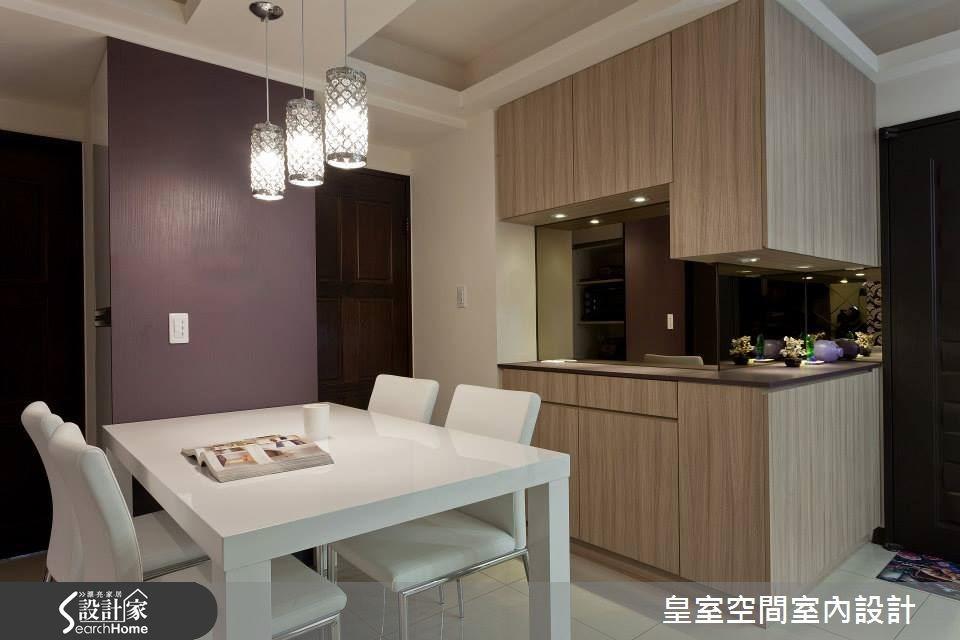 紫色的甜蜜氣息 25坪新古典居宅