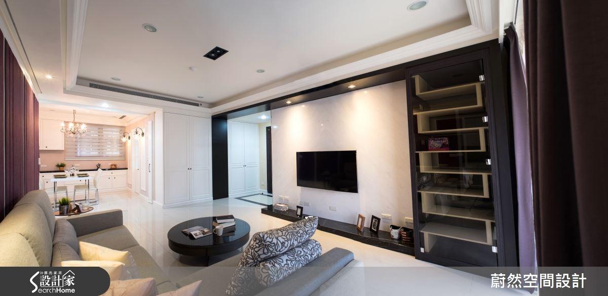 來場優雅的華爾滋吧!49坪打造3房2廳清爽新古典居家