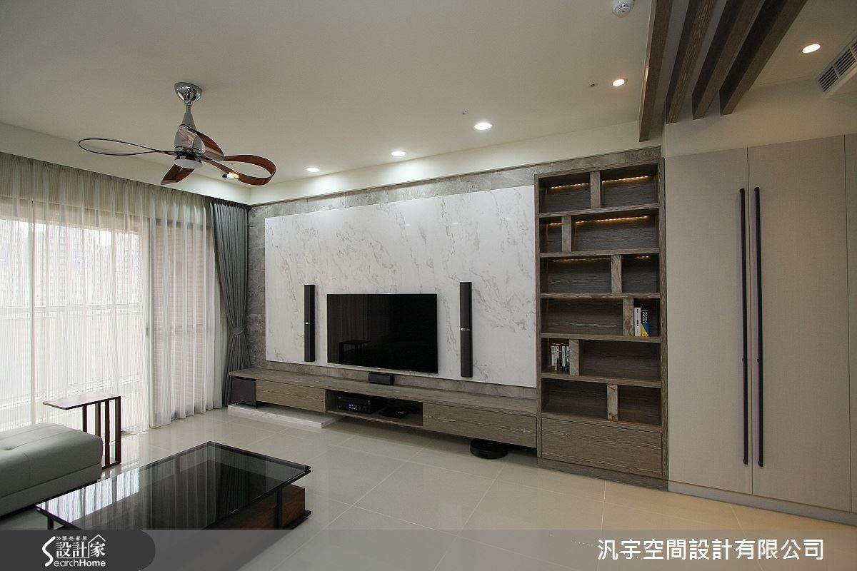 靜享低調安穩的美好時光.47坪打造暖感人文現代風居家
