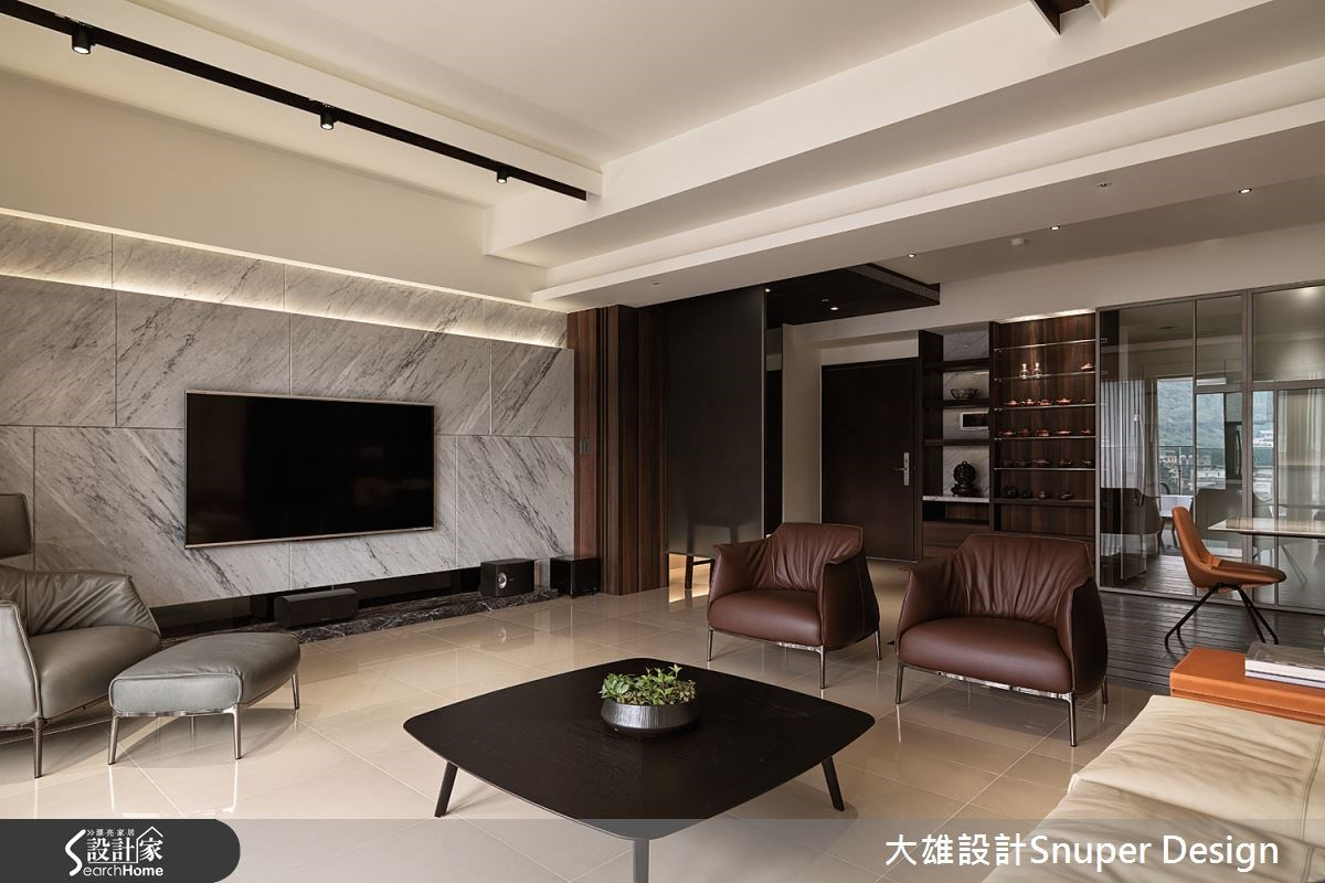 在 45 坪日式禪風宅 享受隨心的兩人生活