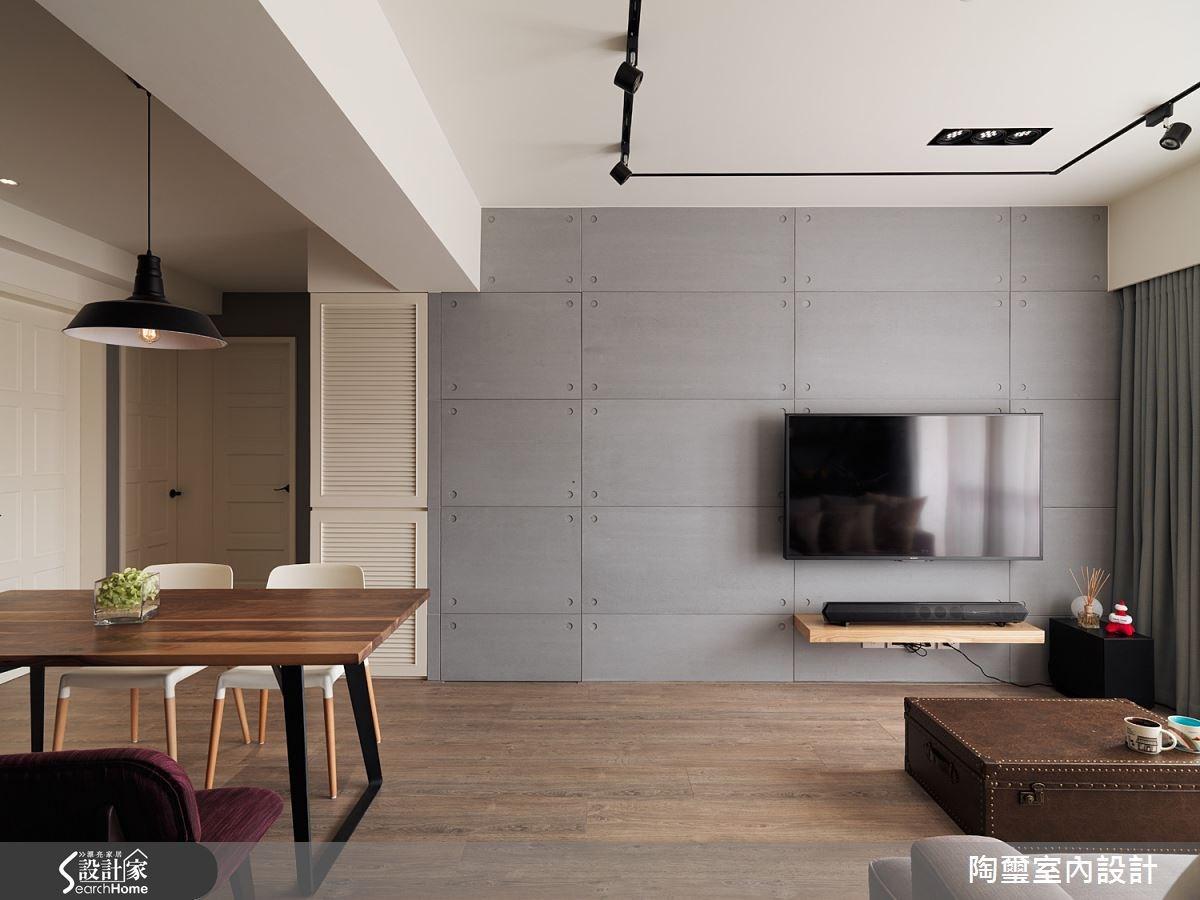 loft風的簡單主義  給你28坪3房2廳好清爽居宅