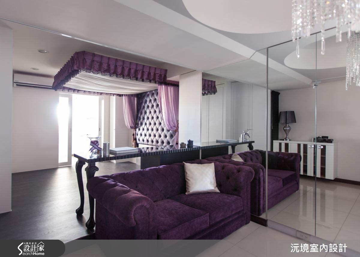 平民女神 LOOK! 8坪小套房也能擁有奢華宮廷風