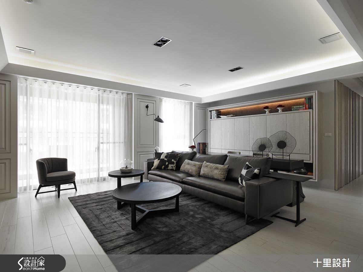 細節至上 用黑白基調展現精緻現代居家