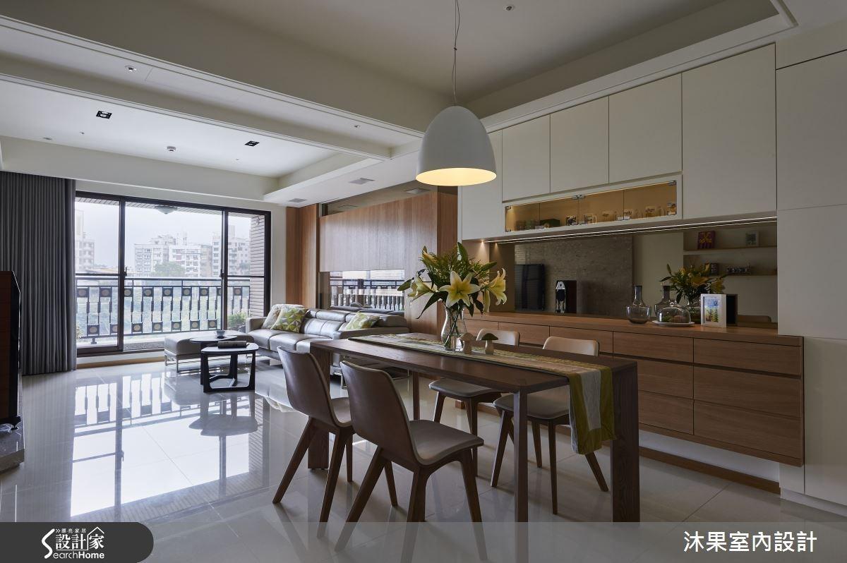 淡水河畔的 45 坪現代風美宅 空間加乘再放大