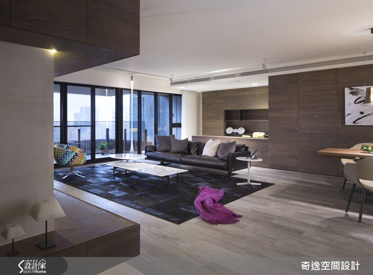 微醺視覺 經典色調玩轉綺麗的名流居宅