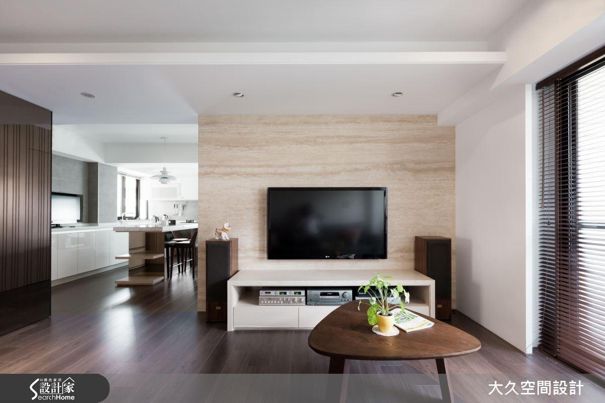 多元層次利用 讓溫潤日式簡約進駐現代木感居家