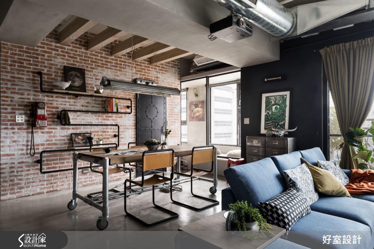 復古工業感的極致發揮 給你曼哈頓高級訂製公寓的享受