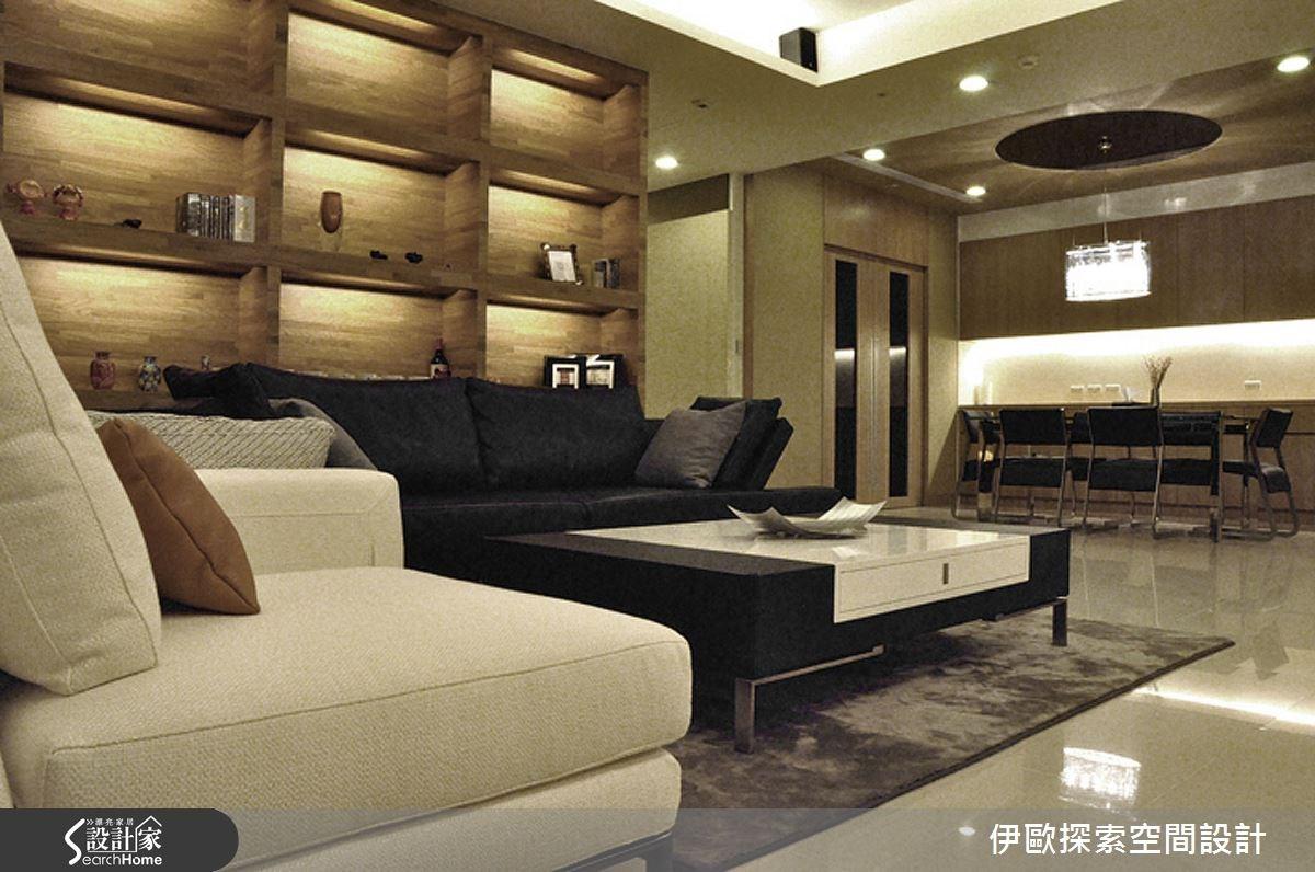 冷暖交會 石材融合木質的細緻居家