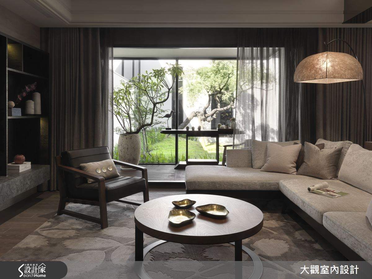 感受家的自然生命力 就在 36 坪現代宅
